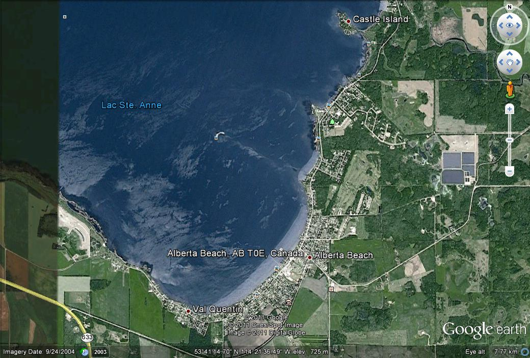Alberta Beach Lac Ste Anne Nw Of Edmonton I Ve Never Sailed There But That S One Place Locals Go